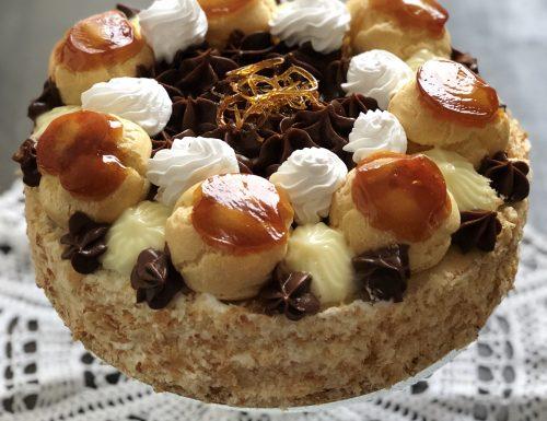 La mia torta Saint Honoré