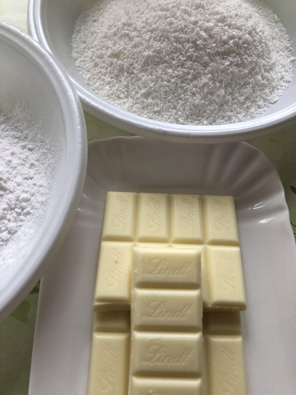 Plumcake al cioccolato bianco e cocco