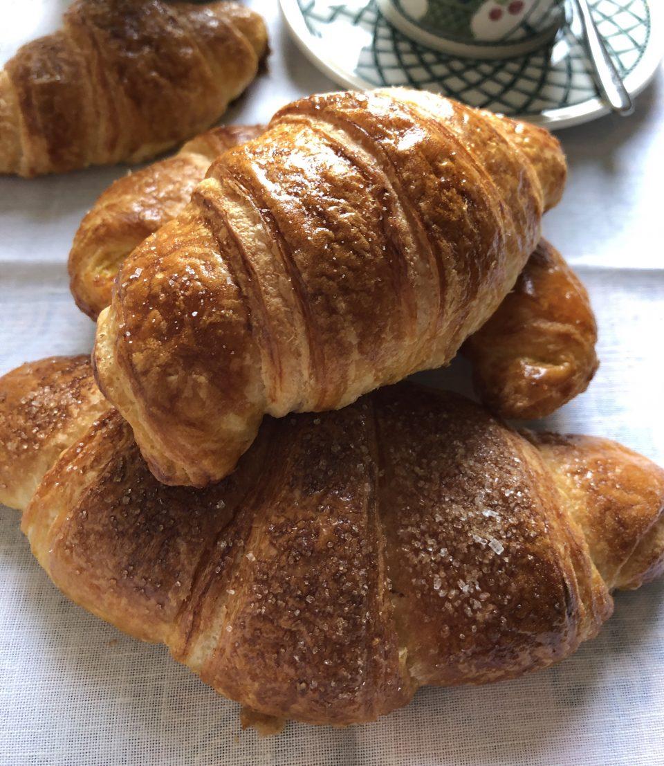 Croissant parigino ricetta Massari